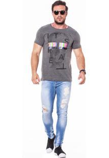 Camiseta Wolke Gola Careca Of Air