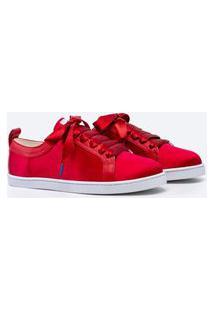 Sneaker Twins For Peace - Boubou Silk Vermelho