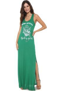 9157f523d Dafiti. Vestido Colcci Longo Estampado Verde