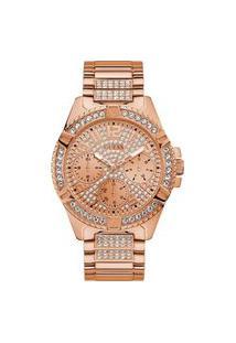 Relógio Feminino Analógico Rosê Guess – 92710Lpgsra3 Rosa