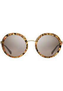 Prada Eyewear Prada Cinéma Sunglasses - Marrom