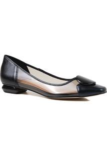 Sapato Feminino Scarpin Zariff Vinil