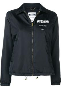 Moschino Couture! Zipped Jacket - Preto