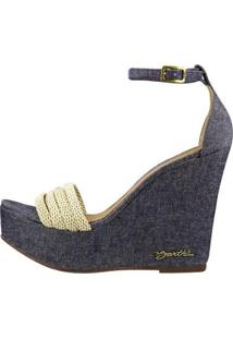 Sandalia Barth Shoes Solaris Feminina - Feminino-Azul