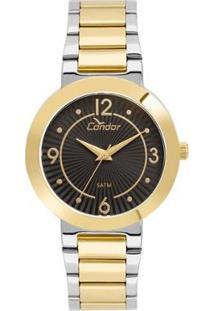 Relógio Condor Feminino Bracelete Bicolor - Co2035Kvt/5P Co2035Kvt/5P - Feminino-Dourado