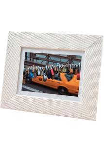 Porta Retrato Em Madeira Lux 13X18Cm Branco