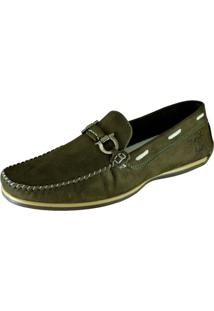 Docksiders Casual Drive Exclusivo Avalon Masculino - Masculino-Verde