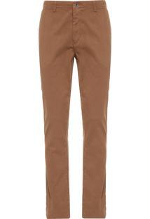 Calça Masculina Chino Colors - Marrom