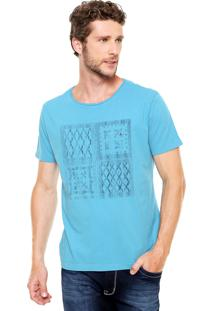 Camiseta Aramis Regular Fit Bandana Azul