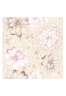 Papel De Parede Adesivo - Floral - 916Ppb