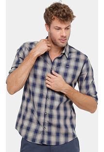 Camisa Xadrez Colcci Slim Masculina - Masculino