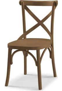 Cadeira X Cor Marrom Claro - 31329 - Sun House