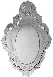 Espelho Veneziano Bisotado Decorativo Sala Quarto Als 55