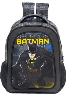 Mochila Escolar Batman Dark Light