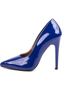 Scarpin Factor Fashion Salto Alto - Klein - Tricae