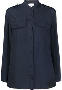 Dondup Blusa Modelagem Solta - Azul