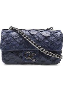 Bolsa Corello Shoulder Bag Azul Marinho