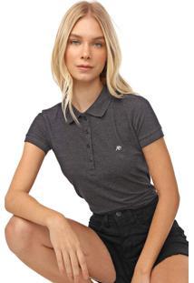 Camisa Polo Aeropostale Lisa Grafite