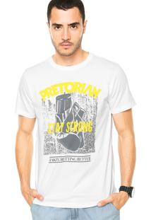 Camiseta Pretorian Stay Strong Branca
