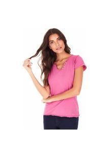 Camiseta Feminina Sidewalk Árabe Rosa