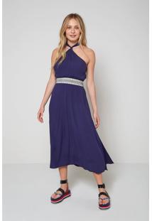 Vestidos Oh, Boy! Vestido Azul - Kanui