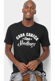 Camiseta Toiss Cada Cabeça Masculina - Masculino