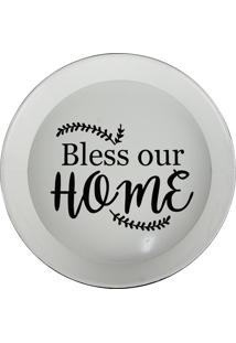 Bandeja De Metal Bless Our Home Kasa Ideia