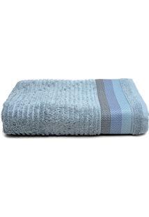 Toalha De Banho Gigante Artex Le Bain Detroit 90X150Cm Azul