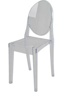 Cadeira Louis Ghost Sem Braco Pc Incolor - 44153 - Sun House