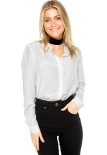 Camisa Maria Filó Lisa Off-White