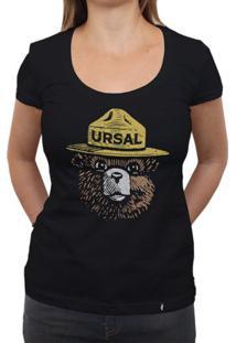 Urso Ursal - Camiseta Clássica Feminina