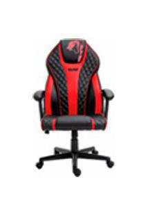 Cadeira Gamer Advanced Snake Naja Reclinavel Giratoria Preta E Vermelha 411
