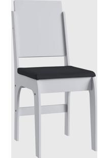 Cadeira Mdf 916 Par Branco Móveis Canção