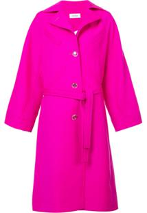 Courrèges Trench Coat Oversized - Rosa