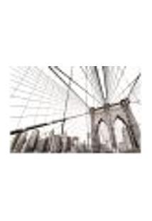 Painel Adesivo De Parede - Ponte Do Brooklyn - 1089Pnp