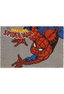 "Capacho Spider Manâ® ""Amazing""- Cinza & Vermelho- 1,5Mabruk"