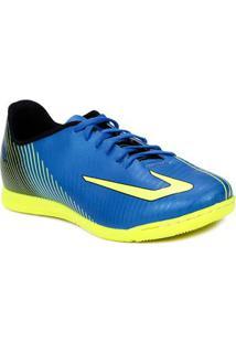Tênis Futsal Masculino Topper Ultra Indoor Azul/Amarelo