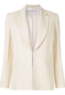 Victoria Victoria Beckham Blazer Com Abotoamento Simples - Amarelo