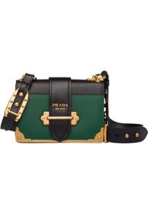 Prada Bolsa Cahier - Verde