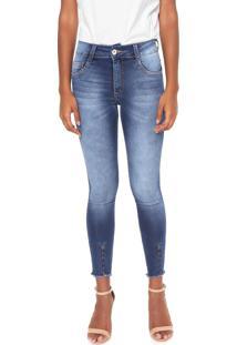 ec10c5e36 R$ 149,97. Dafiti Calça Jeans Biotipo Skinny Desfiada Azul