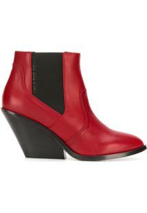 Diesel Ankle Boots - Vermelho