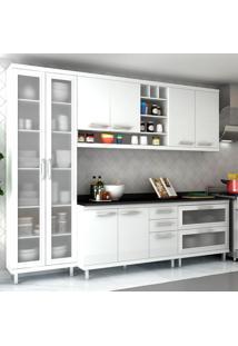 Cozinha Completa New Vitoria 15 Branco Tx/Bianco - Hecol