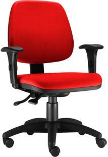 Cadeira Giratória Lyam Decor Job Vermelho