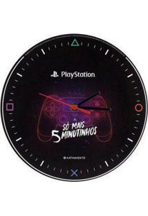 Relogio De Parede Playstation - Kanui