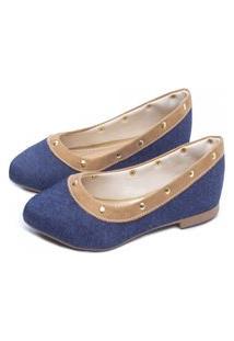Sapatilha Torricella Jeans Azul