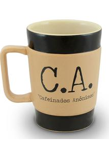 Caneca Coffe To Go-C.A Curta 300Ml-Mondoceram - Pardo