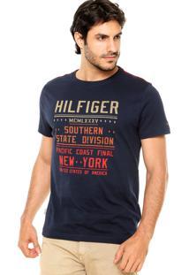 Camiseta Tommy Hilfiger Scanton Azul Marinho