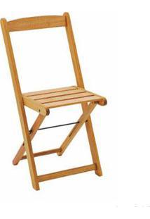 Cadeira De Madeira Dobrável Veneza Stain Jatobá Butzke