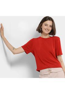 Camiseta My Favorite Thing (S) Feminina - Feminino-Vermelho