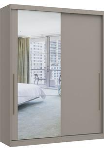 Módulo Com 2 Portas De Correr C/ Espelho E 2 Gavetas Elegance 4222A- Móveis Castro - Nacar